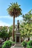 对唐璜的纪念碑 库存照片
