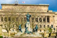 对国王的利物浦军团的纪念碑 免版税库存图片