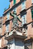 对圣加埃塔诺,老那不勒斯,意大利的纪念碑 免版税库存图片