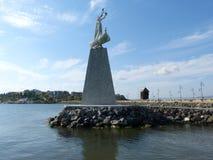 对圣尼古拉的纪念碑 库存图片