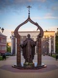 对圣徒的一座纪念碑 免版税库存照片