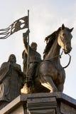 对圣徒费多尔王子的弗拉基米尔和纪念碑 图库摄影