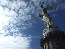 对圣母玛丽亚的纪念碑 库存照片