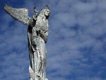 对圣母玛丽亚的纪念碑 免版税图库摄影