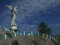 对圣母玛丽亚的纪念碑 图库摄影