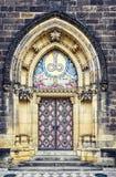对圣皮特圣徒・彼得和圣保罗大教堂的进口  库存照片