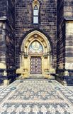 对圣皮特圣徒・彼得和圣保罗大教堂的进口  免版税库存照片