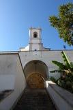 对圣诞老人Luzia的台阶 免版税库存照片