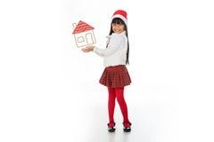 对圣诞节我会要一个安全家 免版税库存图片