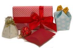 对圣诞节的礼品。 库存照片