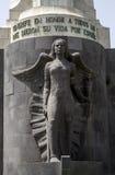 对在南北战争下落的进贡圣克鲁斯特内里费岛 库存照片