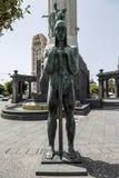 对在南北战争下落的进贡圣克鲁斯特内里费岛 库存图片