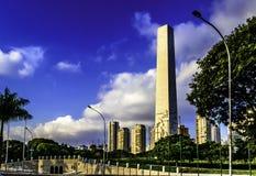 对在宪法的战争中下落的纪念碑 库存图片