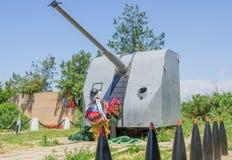 对在巨大爱国战争中下落的纪念碑 库存照片