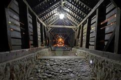 对地狱的隧道 免版税库存照片