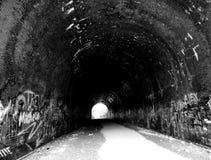 对地狱的隧道 图库摄影