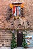对塔Piazzetta的Prendiparte Torre Prendiparte的入口 库存照片