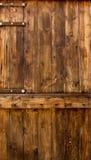 对墙壁背景的老木头 免版税库存图片