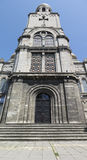 对大教堂的入口在瓦尔纳 库存图片
