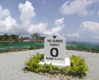 对大菩萨的纪念碑山的在泰国 免版税库存照片