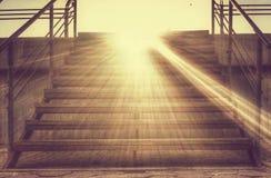 对天堂的台阶 图库摄影