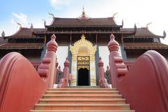 寺庙楼梯 免版税图库摄影
