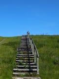 对天堂的楼梯, 库存图片