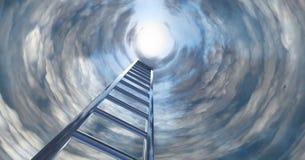 对天堂的楼梯 库存照片