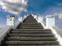 对天堂的楼梯 免版税库存图片