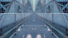 对天桥的镜子作用 向量例证