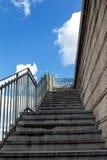 对天空的台阶 免版税图库摄影
