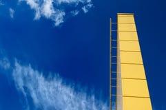 对天空的梯子 免版税库存图片