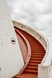 对天空的楼梯 免版税库存图片