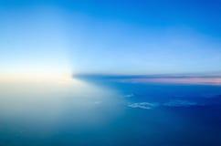 对天空的阳光 JPG 免版税库存图片