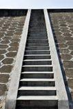 对天空,向天堂的路的梯子 图库摄影