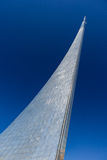 对太空火箭的征服者的纪念碑 图库摄影