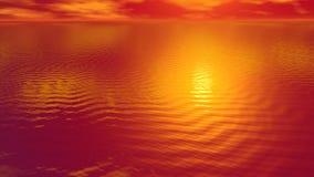 对太阳的3D的上生回报 向量例证