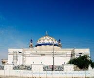 对奈达清真寺,巴格达,伊拉克的外视图 免版税图库摄影
