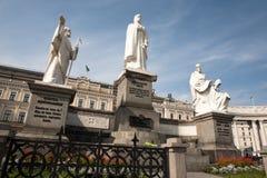 对奥尔加公主的纪念碑在基辅乌克兰 免版税图库摄影