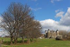对好的妙语回购城堡的胡同  免版税库存图片