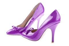 对妇女的鞋子 库存照片