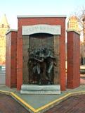 杰瑞抢救纪念碑在西勒鸠斯,纽约 免版税库存照片