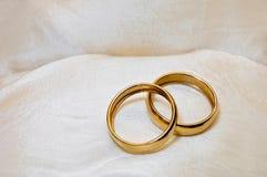 对婚戒 免版税库存照片