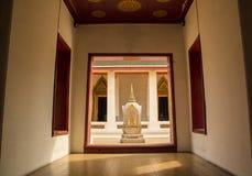 对寺庙的大门 库存图片
