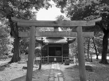 对寺庙的门户 免版税库存照片