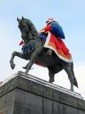 对尤里多尔戈鲁基的纪念碑 库存图片