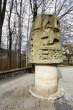 对山救助者的纪念碑在扎科帕内 库存图片