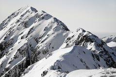对山顶 图库摄影
