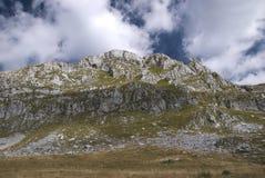 对山` stozac `,黑山的看法 免版税图库摄影
