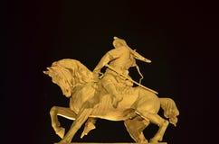 对巴什基尔人英雄的纪念碑 库存照片